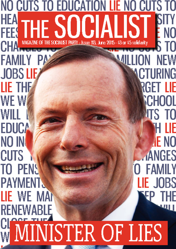 thumbnail of 113 The Socialist June 2015 online version