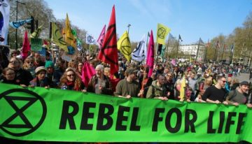 Extinction Rebellion & the fight against climate catastrophe