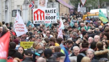 Protest movement needed for renters' rights!