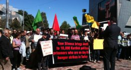 Kurdish Community in Melbourne join 10,000 on hunger strike
