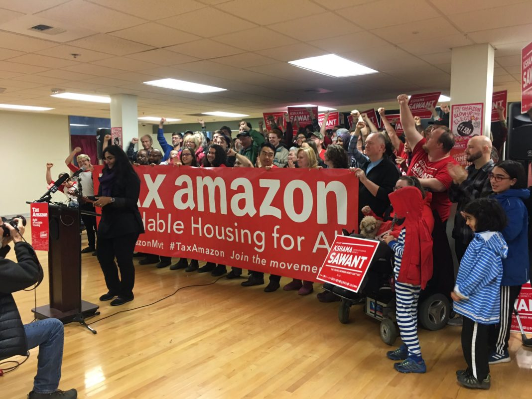 US: How socialists defeated Amazon in Seattle