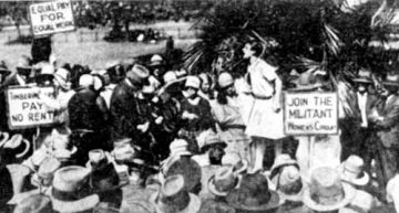 History: The Militant Women's Group