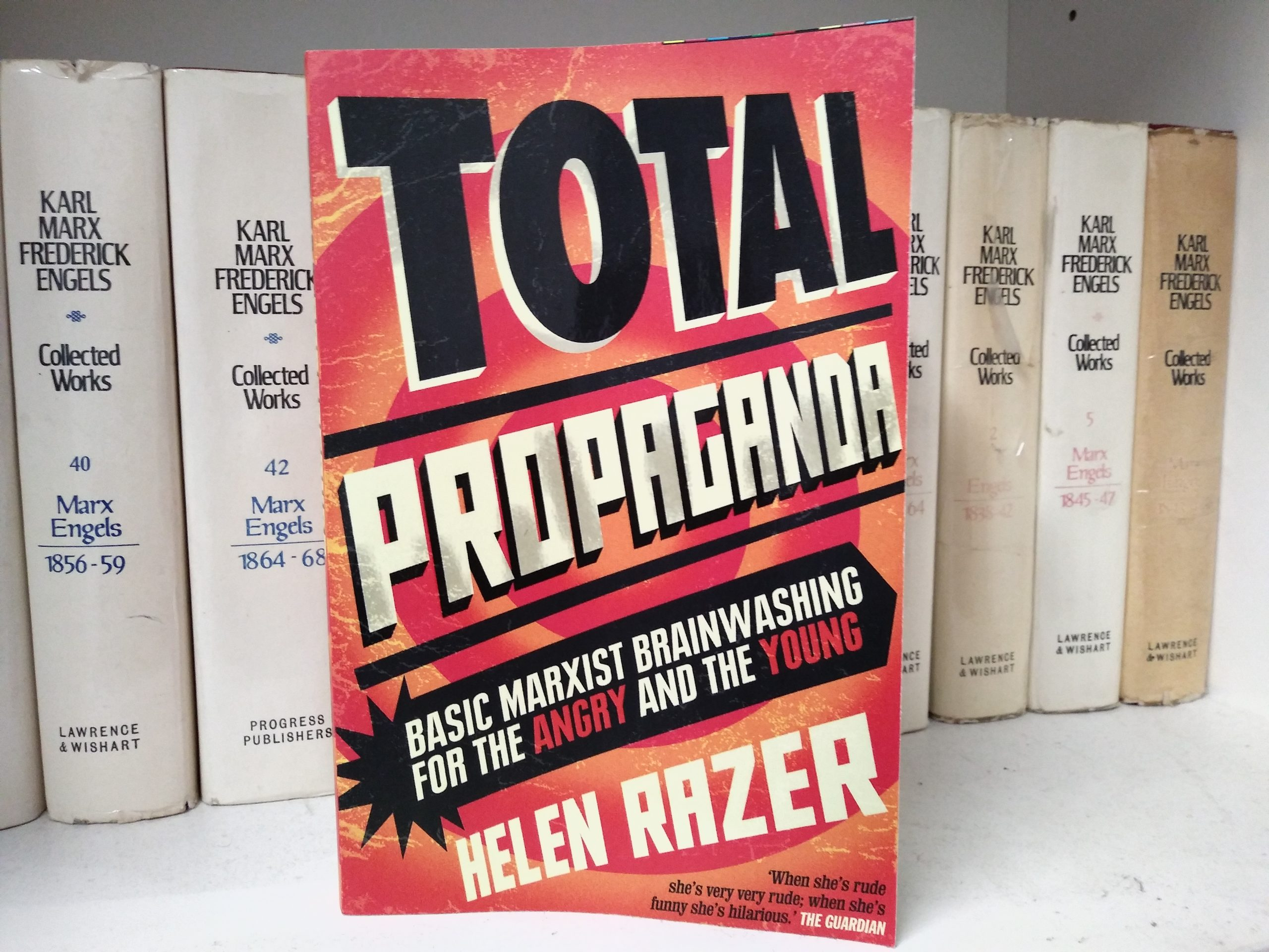 Review: Total Propaganda by Helen Razer