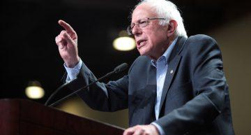 Where is Bernie heading?