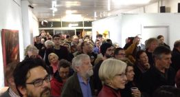 Packed book launch in Melbourne