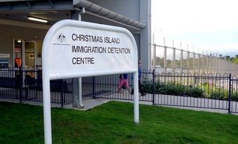 Christmas Island hellhole reopened