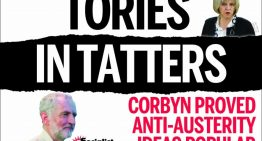 British election: May and Tories must go!