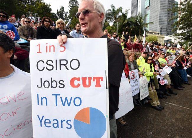 Dismay over CSIRO cutbacks