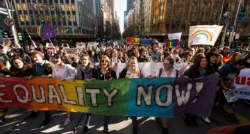 Australia lags behind on marriage equality