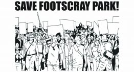 Prepare for direct action to save Footscray Park