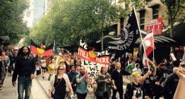 Melbourne Invasion Day rally