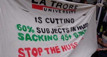 La Trobe Uni management pushing more cuts
