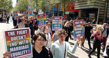 How LGBTIQ oppression stems from the system