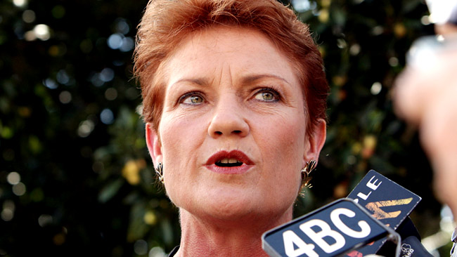 The return of Pauline Hanson