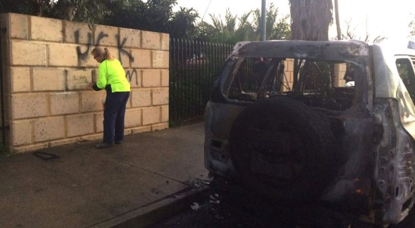 Perth mosque attacked