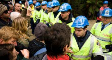New anti-protest laws in Tasmania