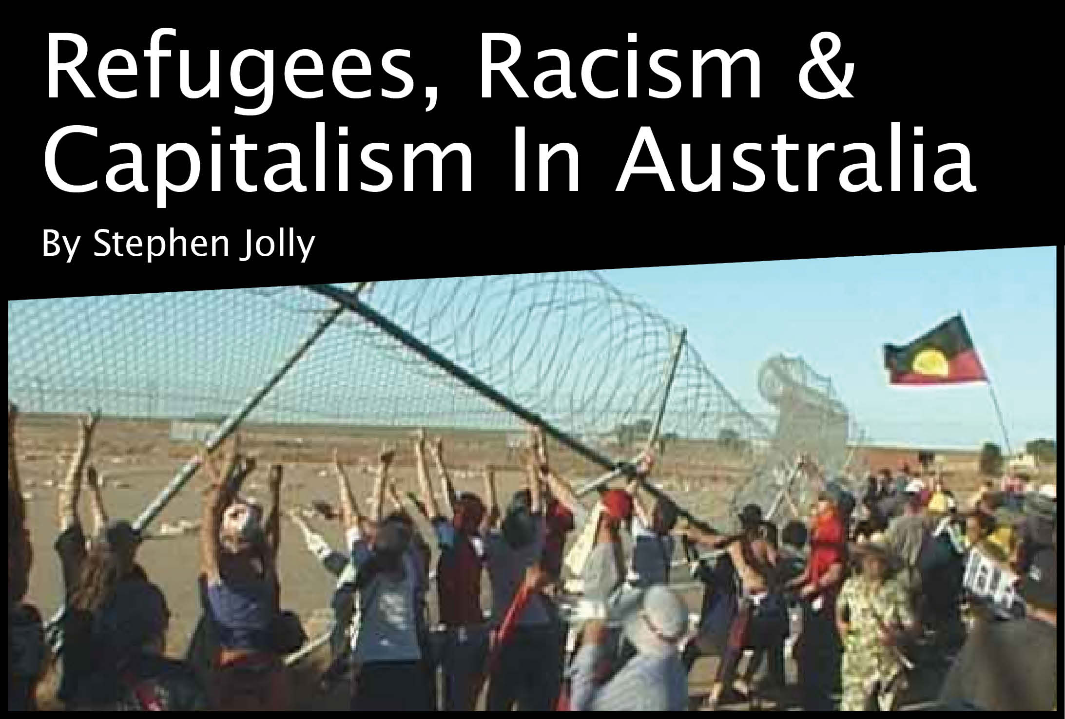 Refugees, racism and capitalism in Australia