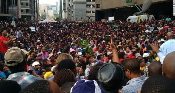 Student uprising in South Africa