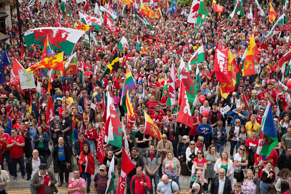 The national question in Wales
