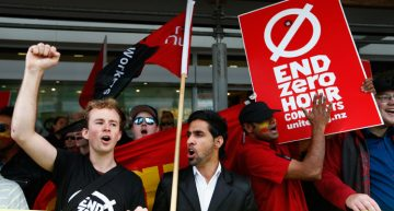 NZ: Unite Union wins against zero hour contracts